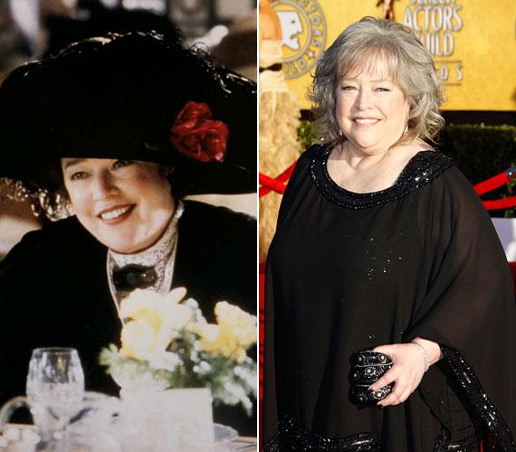 Kathy Bates 63 évesen is megőrizte kedves, vidám karakterét.