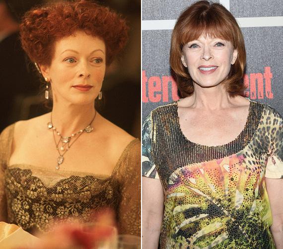 Frances Fisher játszotta Rose édesanyját a filmben, aki mindenáron hozzá akarja adni a lányát egy olyan férfihoz, akit az nem szeret. A 62 éves, angol származású színésznő inkább színházi berkekben ismert, Hollywoodban leginkább sorozatokban és tévéfilmekben kapott szerepet, 2013-ban a Burok című sci-fiben ismerhettek rá a Titanic egykori nézői.