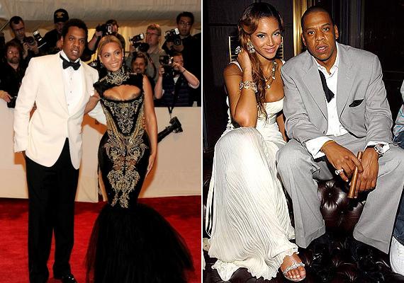 Beyoncé és Jay-Z mindössze 40 vendég előtt mondták ki a boldogító igent a rapper New York-i lakásán. A párnak 2012 januárjában született meg a kislánya, akit Blue Ivy Carternek neveztek el.
