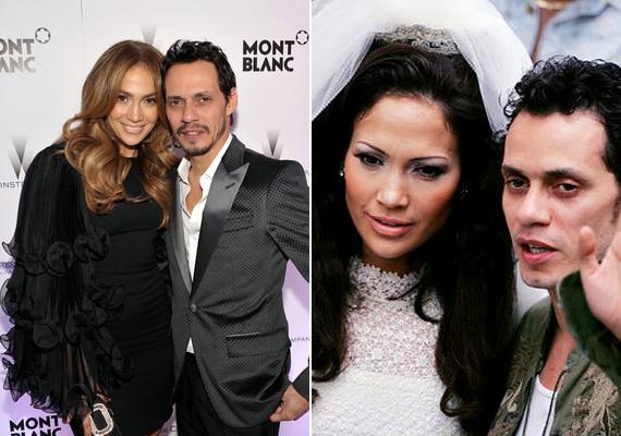 J.Lo és párja, Marc Anthony 2005 júniusában házasodott össze Beverly Hills-i otthonukban. Érdekesség, hogy a férfi válása és az esküvő között csupán négy nap telt el, az érkező vendégek pedig nem is sejtették, hogy milyen eseményre hívták meg őket.