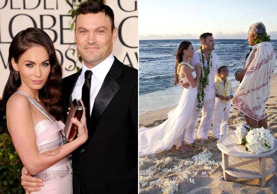 A Transformers sztárja és Brian Austin Green rendező 2012-ben ünneplik második házassági évfordulójukat - ráadásul igazán különleges ajándékkal: a színésznő első kisbabájukat várja.