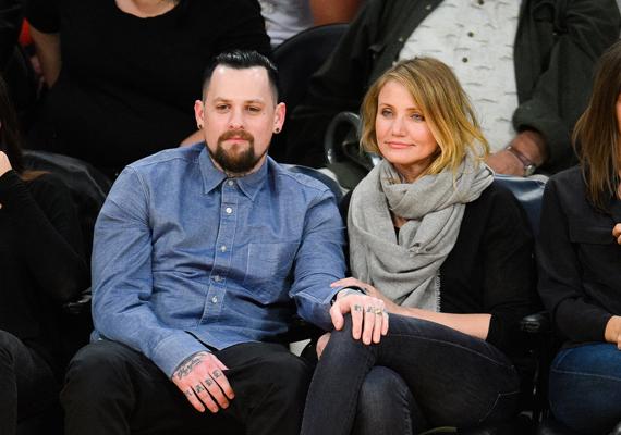 Cameron Diaz és a Good Charlotte zenekar frontembere, Benji Madden 2015 januárjában házasodtak össze kevesebb, mint egy év együttélés után. A ceremóniára a színésznő Beverly Hills-i otthonában került sor.