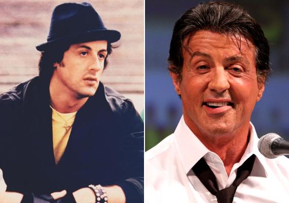 A Stallone családban furcsa módon nem a nők, hanem maga a családfő lett rabja a plasztikai műtéteknek. A színész szemöldöke jó néhány centivel feljebb került, szája pedig elferdült a beavatkozásoktól.