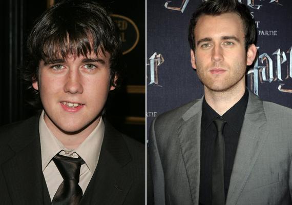A Harry Potter-filmek csúnyácska Neville Longbottomját alakító Matthew Lewisnak jót tett a pubertás - igazi szépfiú vált belőle.