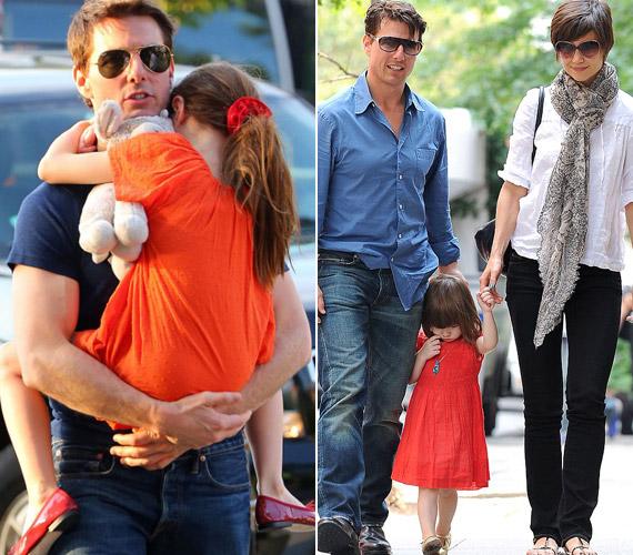 A színész kislánya miatt ugyan találkozik volt nejével, de kapcsolatuk csak formális.