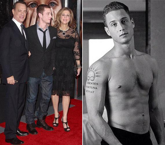 Tom Hanks és Rita Wilson elsőszülött fia a filmipar helyett a zenei világban, rapperként szeretne érvényesülni.