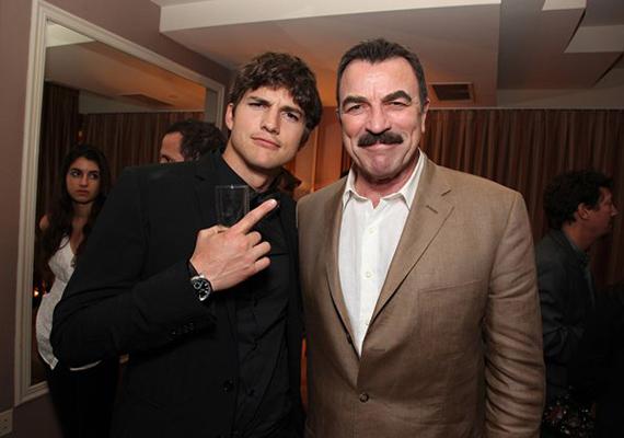 Néhány éve Tom együtt forgatta le a Bérgyilkosék című filmet Ashton Kutcherrel. A fiatal színész nagyon féltékeny volt idősebb kollégájára annak arcszőrzete miatt:                         - Mondtam Ashtonnak, hogy fogalmam sincs, mit kellene tennie. Erre ő azt válaszolta: én soha nem lennék képes ilyet növeszteni magamnak.