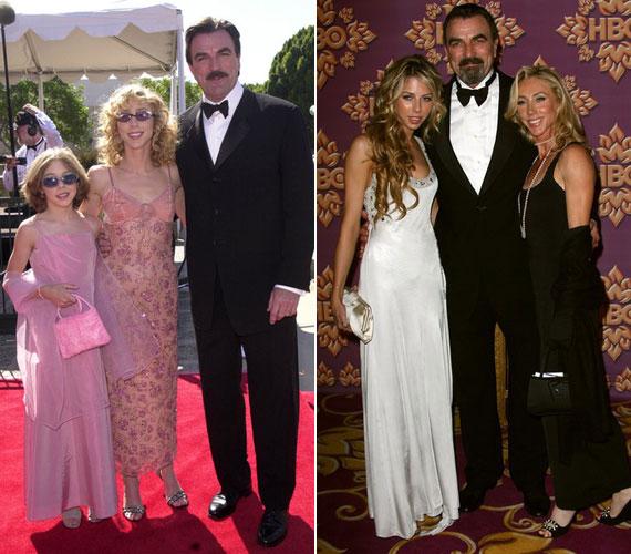 Az egykori sorozatsztárt gyakran elkíséri a vörös szőnyegre felesége, Jillie és lánya, Hannah Margaret.