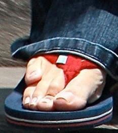 Garner szörnyű lábujjai