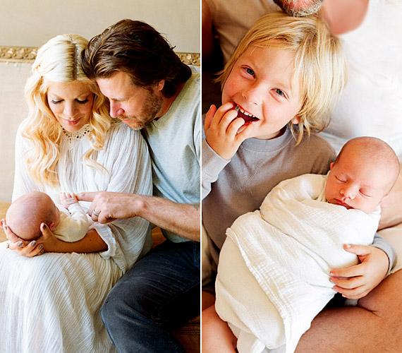 A színész házaspár nem tervezte a babát, de váratlan szerencseként gondolnak rá, ami csak még jobban megerősítette kapcsolatukat.