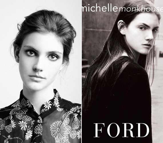 Michelle Kathleen Monkhouse a Ford modellügynökséggel állt szerződésben, a kanadai lány már tizenéves korától modellként dolgozott, a 2009-es New York-i divathét egyik új arcaként mutatták be. 2011 februárjában, első éves egyetemista korában éppen az istállóhoz hajtott, hogy lovagoljon egyet, amikor autója megpördült a jeges úton, és belement a szembejövő forgalomba. Azonnal meghalt, 19 éves volt.