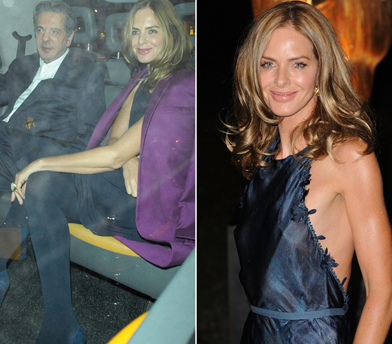 Saatchi mindössze hat héttel a Nigella Lawsontól való válása után már a műsorvezetővel randizott, aki elmondta, egyáltalán nem fél attól, hogy őt is fojtogatni kezdi az iparmágnás.