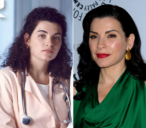 A Vészhelyzet Carol nővére, vagyis a 48 éves Julianna Margulies összesen 136 epizódban szerepelt. A sorozatot 1994 és 2009 között forgatták. Ezt követően vállalta el A férjem védelmében sorozat főszerepét, és ezzel is sikeres lett. A színésznő a mai napig megőrizte természetes szépségét.