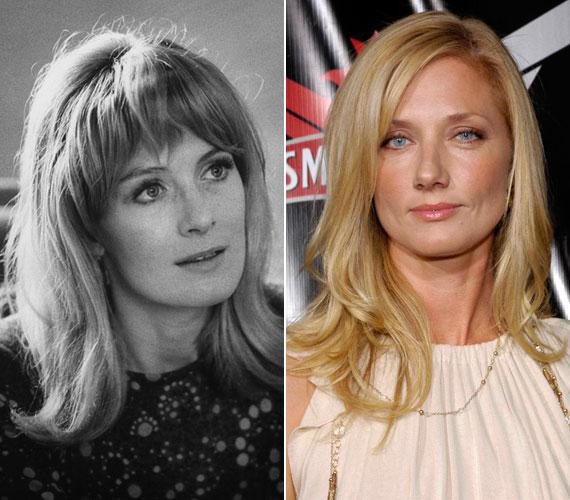 A 78 éves Vanessa Redgrave fiatal színésznőként. Az Oscar-díjas angol sztár két lányai is a nyomdokaiba lépett: Natasha Richardon, Liam Neeson feleség egy síbalesetet követően életét vesztette 2009-ben, az 50 éves Joely Richardson olyan sorozatokból ismert, mint a Tudorok vagy a Kés/alatt.