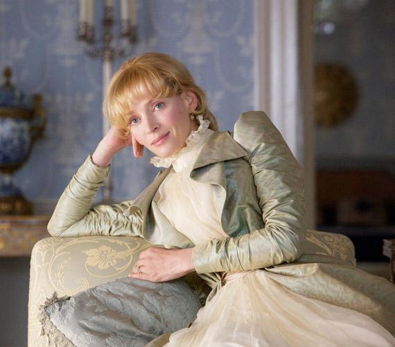 Uma Thurman bátran letagadhatná a korát: a 42 éves színésznő szinte megfiatalodott a Bel Ami 2010-es forgatására.