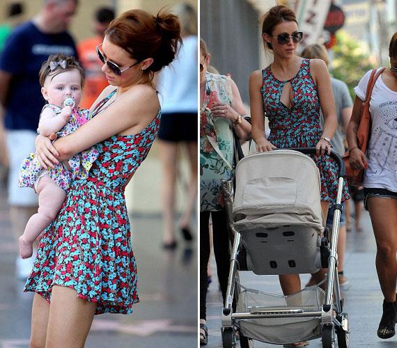 Még mondja valaki, hogy egy kismama a babakocsi mögött vagy kisbabával a kezében nem dögös!
