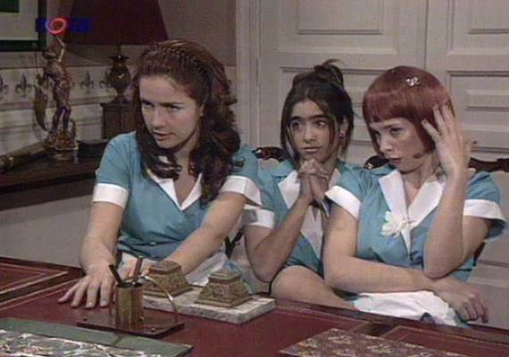 A vad angyal három szépsége. Mili, Lina és Gloria mindenben összetartottak a sorozatban.