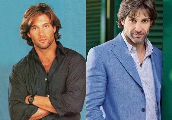 Szinte hihetetlen, hogy 15 év eltelt a két kép készítése között, alig változott valamicskét a színész.