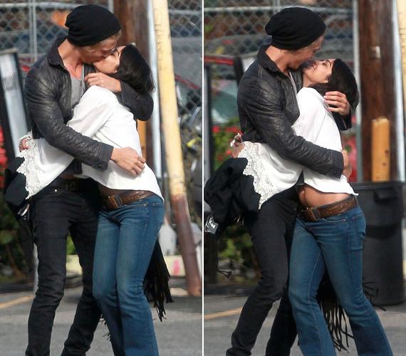 Szenvedélyes csókok és ölelések: Vanessa Hudgens és Austin Butler az utcán turbékoltak.