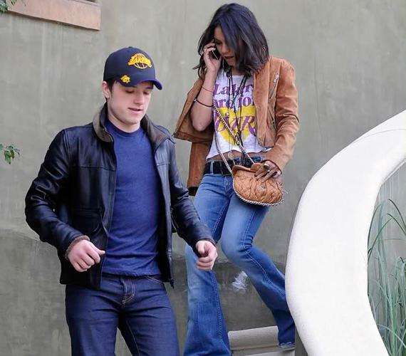 Szeptember elején Josh Hutchersonnal hozták hírbe, ám Vanessa Hudgens állítása szerint csak barátok.