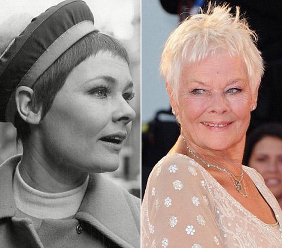 A 80 éves Judi Dench úgy véli, egy nő nem a sima arcbőre miatt lesz szép vagy éppen tehetséges.