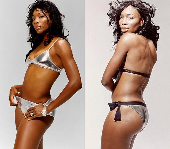 Venus Williams a világ legjobb teniszezőnője, akinek szervája 207 kilométer/órás sebességgel száguld.
