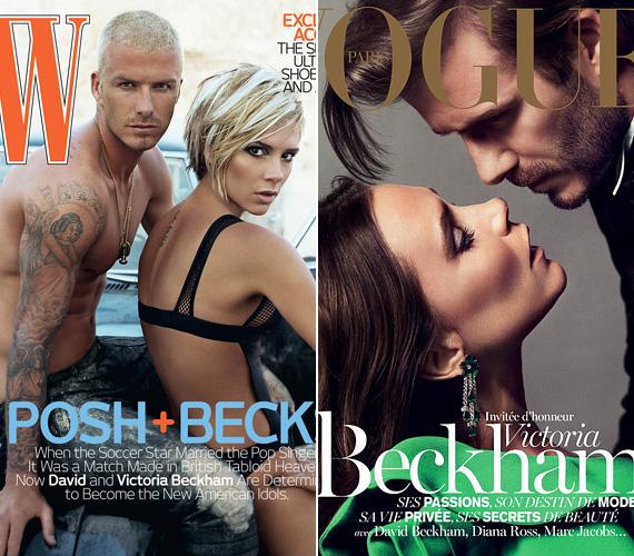 A magazinok is előszeretettel szerepeltetik a párost a címlapjukon: 2007-ben a W-magazin borítóján pózoltak, 2013-ban pedig a Vogue decemberi számához fotózták le őket.
