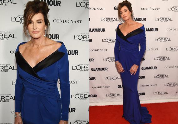 Caitlyn Jenner, akit korábban Bruce Jenner olimpikonként ismerhetett a világ, a legbátrabb transznemű díjazottként léphetett a színpadra.