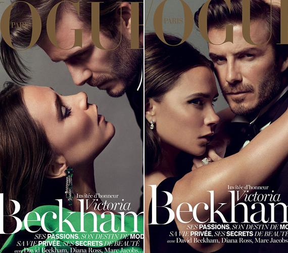 A Vogue magazin címlapján együtt pózol a házaspár.