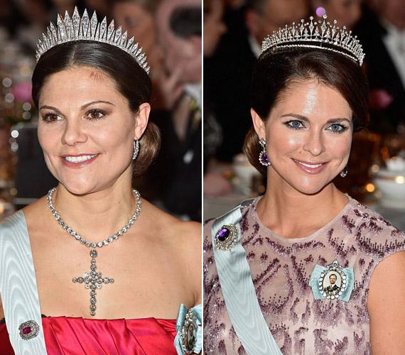 Viktória és Madeleine szépségét sokan Katalin hercegnőéhez hasonlítják, sőt, sokak szerint Madeleine szebb is, mint a britek kedvence.