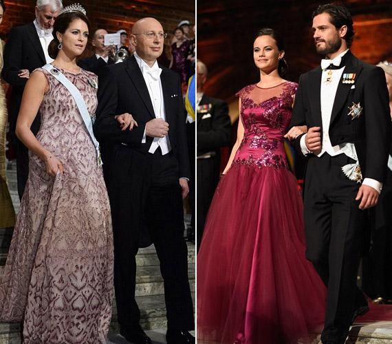 Madeleine egy visszafogott halványlila ruhában jelent meg. Bátyja,Carl Philip - Károly Fülöp - menyasszonyával érkezett az eseményre.