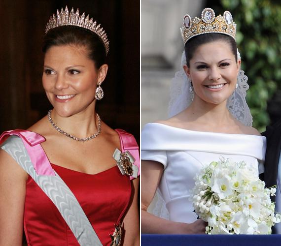 A gyönyörű Viktória hercegnő, a svédek bájos trónörököse.