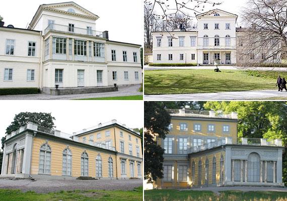 A gyönyörű parkkal körülvett, 25 szobás épületet Madeleine hercegnő, Viktória húga rendezte be.