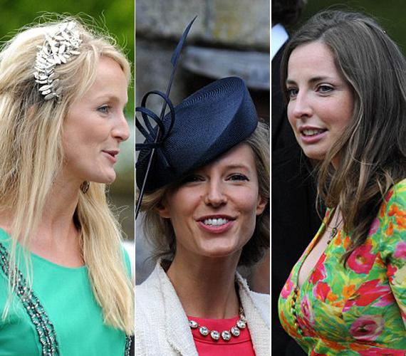 Rosie van Cutsemmel 2007-ben randizott Vilmos, miután szakítottak Kate Middletonnal. A 31 éves Olivia Hunttal az egyetemen jöttek össze, de csak rövidebb kapcsolatuk volt. Rose Farquhar pedig Vilmos herceg első szerelme volt.