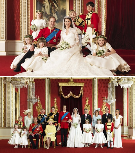 Hivatalos fotók  Az esküvő után két nappal láttak napvilágot a hivatalos fotók, melyeken a legszűkebb családtagok mellett a picik is láthatók.  Kapcsolódó képgaléria: Vilmos herceg és Kate Middleton szerelme »