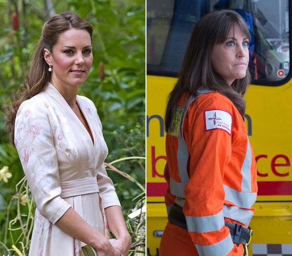 Szemből már nem igazán hasonlítanak, itt már könnyedén meg lehet őket különböztetni egymástól. Talán tényleg nem véletlen, hogy Gemma dolgozik a herceggel.