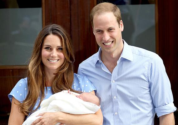 György születése után a következővel rukkolt elő:                         - Katalinnal mostanában lettünk a szülei egy kisbabának, aki úgy üvölt, akár egy oroszlán. Vagyis talán még hangosabban is, de semmi gond nincs ezzel, legalább nagyon jól néz ki.