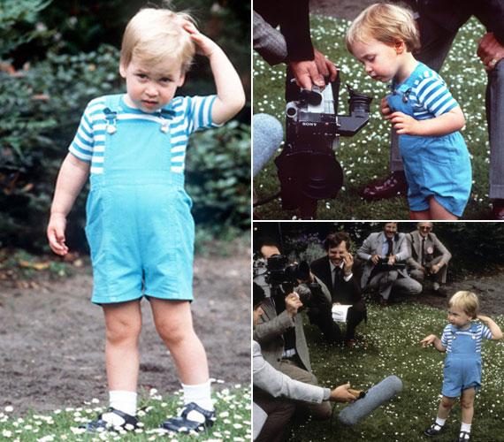 Kisgyerekként még elbűvölte a sok fotós és újságíró, szívesen kokettált velük.