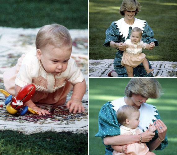 1983-ban szülei többek között Ausztráliába és Új-Zélandra is ellátogattak. Az utóbbi országban, az aucklandi Government House kertében önfeledten játszadozott édesanyjával.