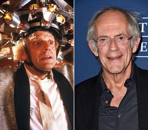 Hogy a Vissza a jövőbe akkora siker lett, az részben Christopher Lloydnak is köszönhető, aki kellőképpen bolond, ugyanakkor szimpatikus figuraként jelenítette meg a tudós Dokit. Bár öregnek tűnt, valójában csak 47 éves volt akkoriban. A 76 éves színész még mindig nem vonult nyugdíjba, sorozatokban játszik, és kis költségvetésű filmekben vállal szerepet.