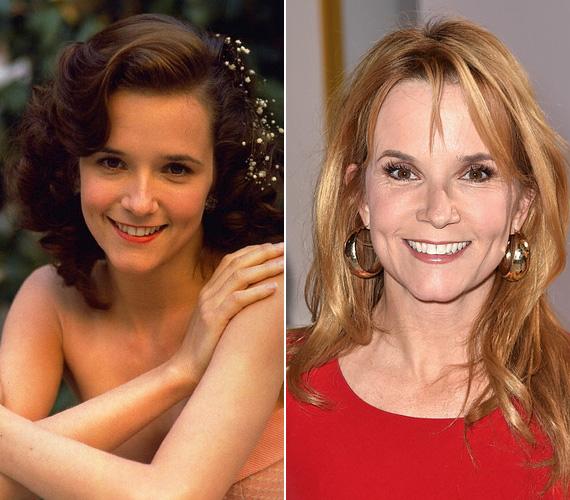 Marty édesanyját, Lorraine-t alakította Lea Thompson színésznő, aki egyidős volt Michael J. Foxszal, így a jelenben játszódó jelenetekhez öregíteni kellett rajta, hogy hihető legyen a korkülönbség. A színésznő jelenleg az Elcserélt lányok című sorozatban látható a Duna TV műsorán.
