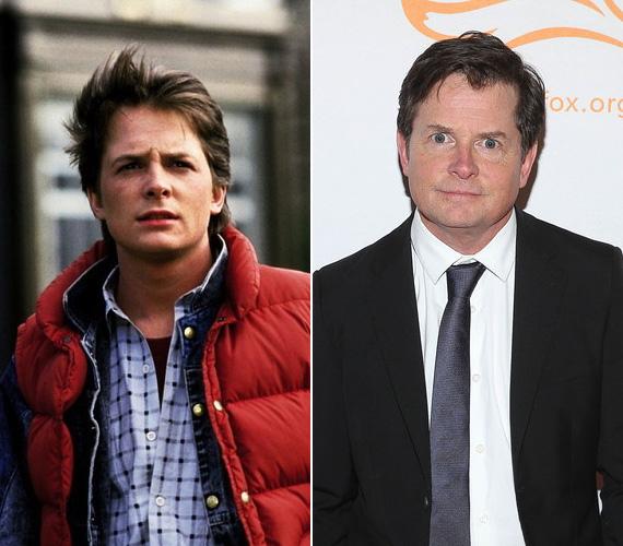 Michael J. Fox alakította a főszereplő srácot, Marty McFlyt, és ezzel a szereppel örökre beírta magát a filmtörténelembe. Érdekesség, hogy bár eredetileg őt akarták a szerepre, az akkor 24 éves színész akkor a Családi kötelékek című sorozatban játszott, és nem sikerült összeegyeztetnie a két forgatást. Ezért az első pár hétben Eric Stoltz játszotta Martyt, de nem igazán vált be, így a film és a sorozat producerei addig tárgyaltak, amíg sikerült kompromisszumos megoldást találniuk. A színészről 30 éves korában derült ki, hogy Parkinson-kórban szenved, de azóta is időről időre felbukkan sorozatokban.
