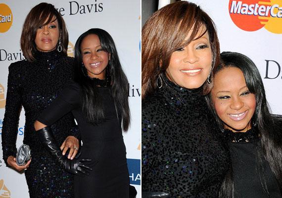 Whitney Houston egy szem lánya, Bobbi Kristina is hasonló sorsa jutott, mint híres édesanyja. A 22 éves korában elhunyt lányra 2015 januárjában eszméletlenül találtak rá lakásán, begyógyszerezve, a fürdőkád mellett. Több hónapig kómában feküdt, majd júliusban halt meg.