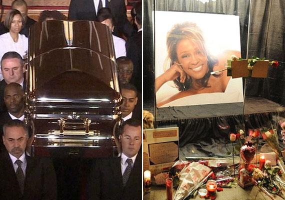 Whitney Houston 2012-es gyászszertartására több százan érkeztek, ám még az sem telt botrányok nélkül. A volt férj a ceremónia legelején kivonult a teremből, lánya pedig dührohamot kapott, és kórházba kellett szállítani.