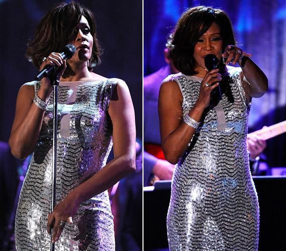 A tavalyi Grammy-gála egyik fellépőjeként ünnepelte a közönség.