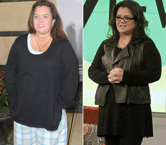 Rosie O'Donnell 14 hónap alatt adta le a 25 kilogrammot.