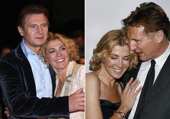 Liam Neeson imádott felesége, Natasha Richardson 2009-ben hunyt el, egy síbaleset következtében. A 45 éves színésznő fejsérülést szenvedett, kómába esett, majd két nappal később meg is halt.