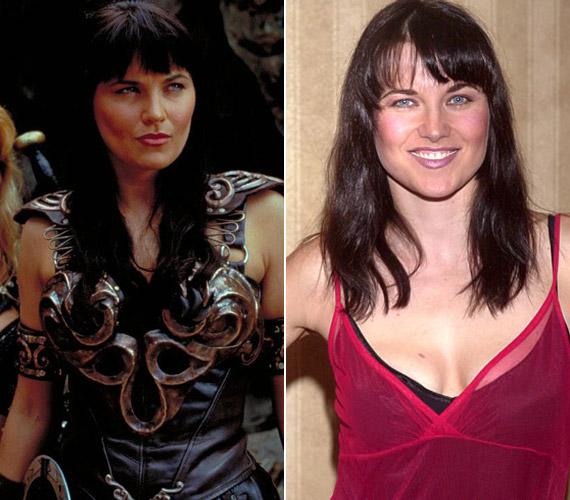 A civilben bájosan nőies Lucy Lawless 16 évvel ezelőtt, 1995-ben öltötte magára a harcos amazon, Xena karakterét.