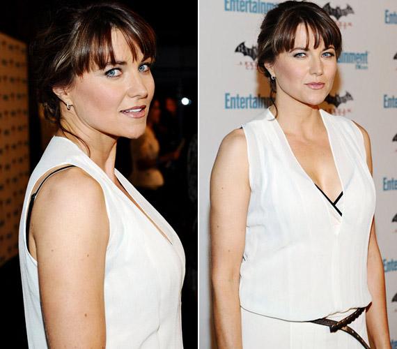 A 2011 júliusi Comic-Con gálára már ismét a jól ismert, barna frizurával, hófehér, mélyen dekoltált ruhában érkezett.