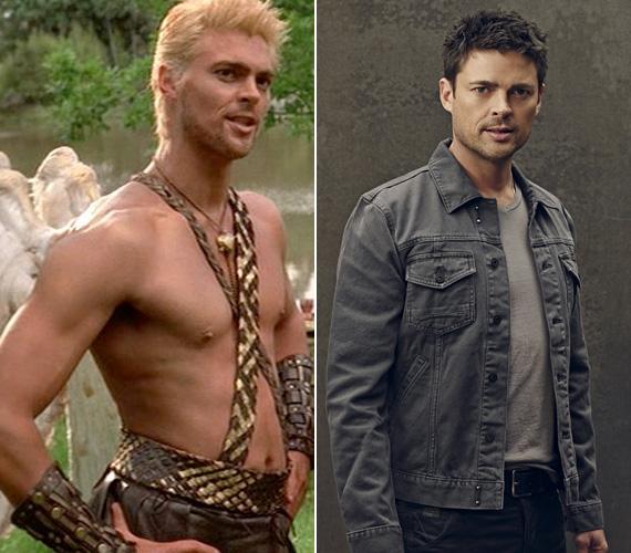 Az új-zélandi születésű Karl Urban Caesart, majd Cupidót játszotta a sorozatban, utóbbit szőkére hidrogénezett hajjal. A sármos színész azóta mozifilmekben is felbukkant - Dredd, Star Trek, A Bourne-csapda -, az Emberi tényező sorozatban pedig nyomozót alakít.